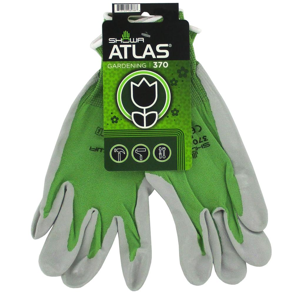Beautiful GLOVE GDN GREEN W/TAG Showa Atlas 370 Garden Gloves, Tagged