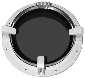 Beckson po8rdws20 porthole 8 white screen smoke seattle for Seattle marine and fishing supply