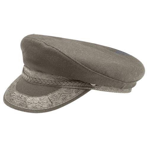 Grey Authentic Greek Fishermans Cap Wool