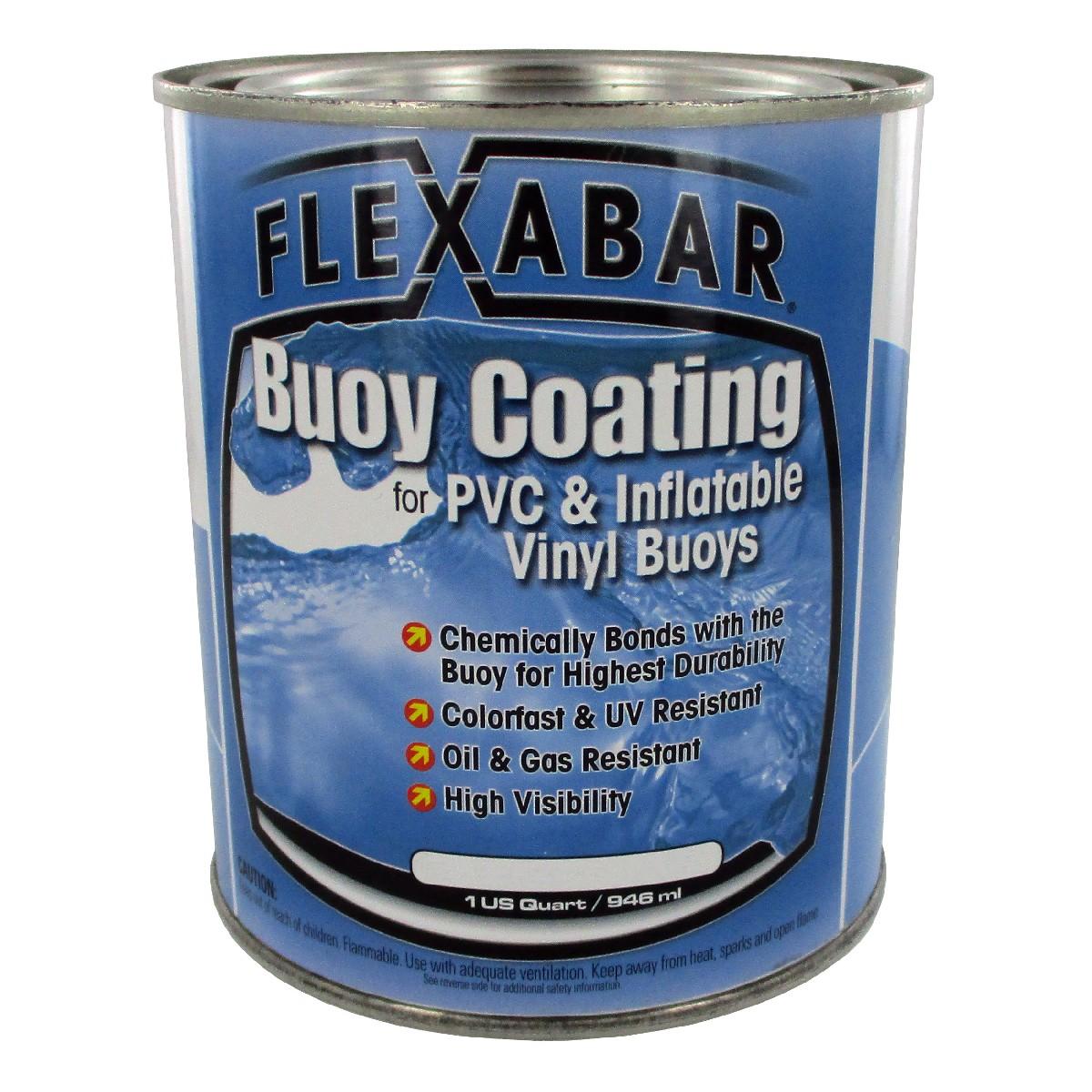 Flexdel 40015 buoy coating white seattle marine for Seattle marine and fishing supply