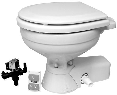 Jabsco 37045 0092 Toilet 12v Quiet Flush Std Bwl Seattle