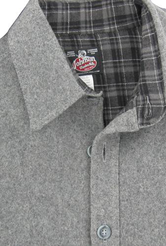 6f728f62457 5F07 4X Shirt Flnl Lined Wool Gry 4X