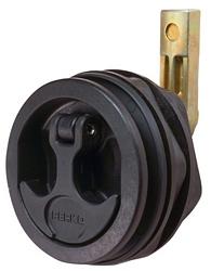Perko 1092DP1BLK; T Handle Flush Latch-Black
