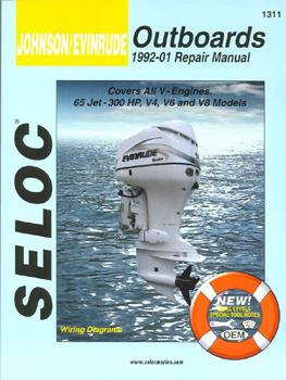 MANUAL O/B J/E V4,6,8 92-01 Johnson/Evinrude manual